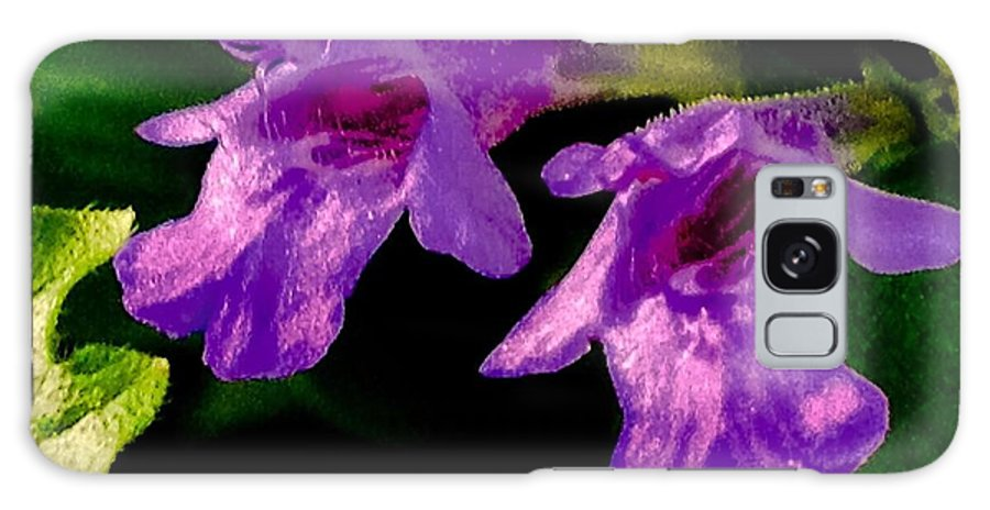 Wild Galaxy S8 Case featuring the photograph Just A Little Wild Flower by Debra Lynch