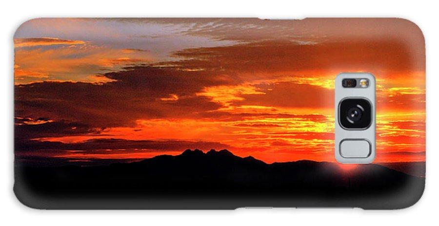 Arizona Galaxy S8 Case featuring the photograph Just Beyond The Horizon by Saija Lehtonen