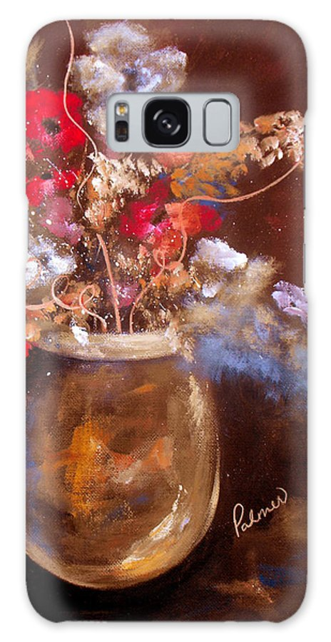 ruth Palmer Galaxy S8 Case featuring the painting Just Flowers by Ruth Palmer