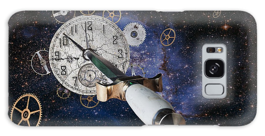 Clock Galaxy S8 Case featuring the photograph Just Killing Time by Tom Mc Nemar