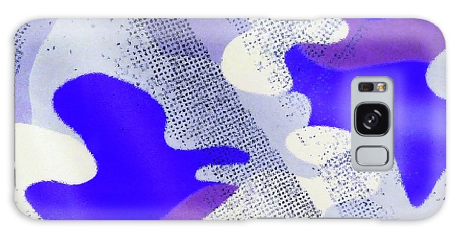 Abstract Galaxy S8 Case featuring the digital art Just Puzzled by Florene Welebny