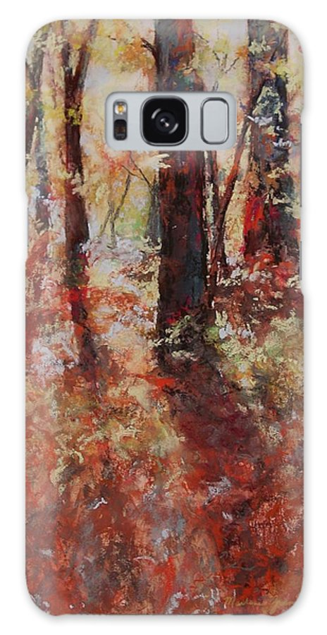 Landscape Galaxy S8 Case featuring the painting Just Waking by Marlene Gremillion