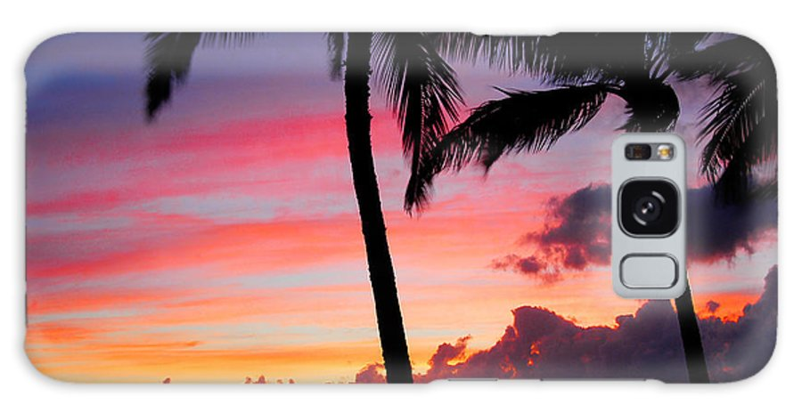 Kaanapali Sunset Galaxy S8 Case featuring the photograph Kaanapali Sunset Kaanapali Maui Hawaii by Michael Bessler