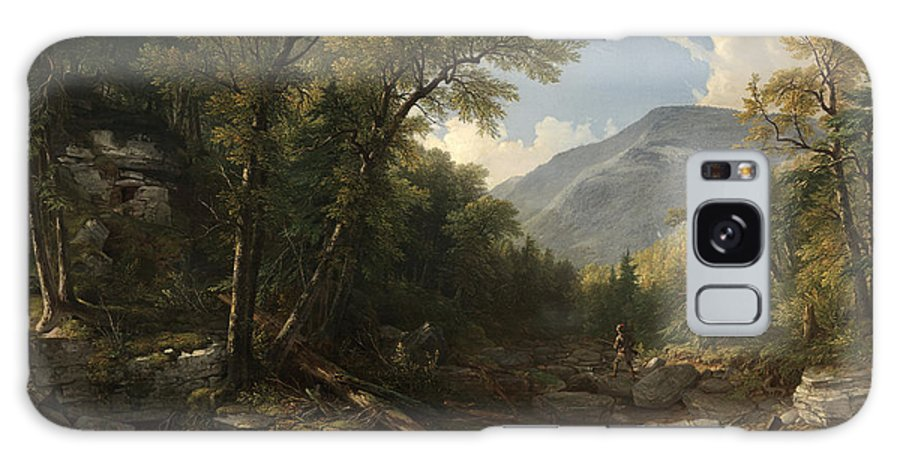 Kaaterskill Clove By Asher Brown Durand 2 Galaxy S8 Case featuring the painting Kaaterskill Clove by Asher Brown Durand