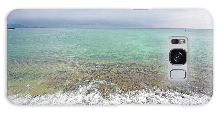 Kailua Beach Galaxy S8 Case featuring the photograph Kailua Storm by Ty Helbach
