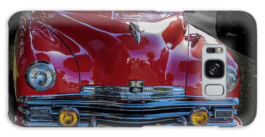 Kaiser Car Galaxy S8 Case featuring the photograph Kaiser Virginian Deluxe - 1949 Convertible by Gene Parks