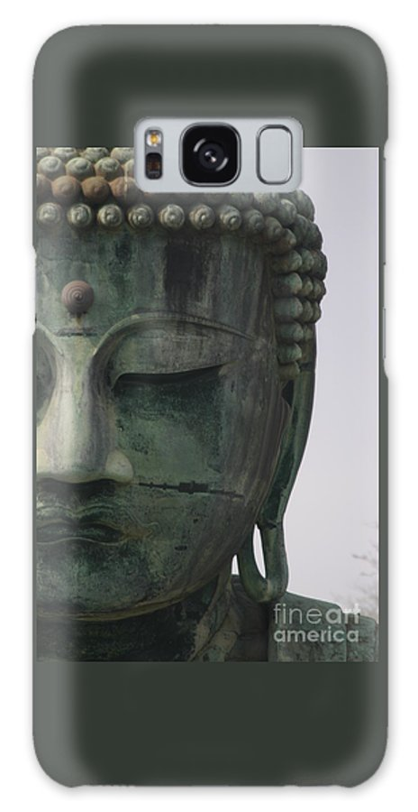 Kamakura Galaxy S8 Case featuring the photograph Kamakura Buddha by M Marquette