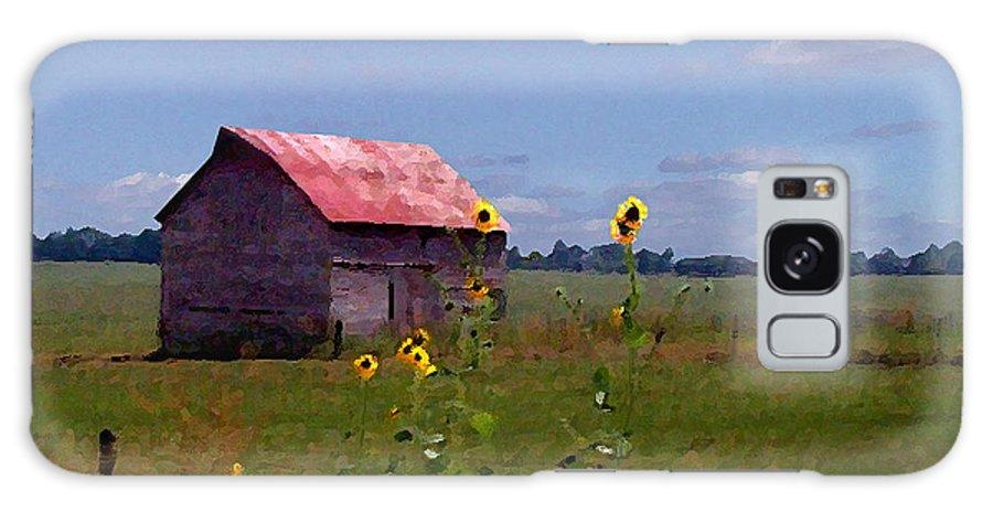 Landscape Galaxy S8 Case featuring the photograph Kansas Landscape by Steve Karol
