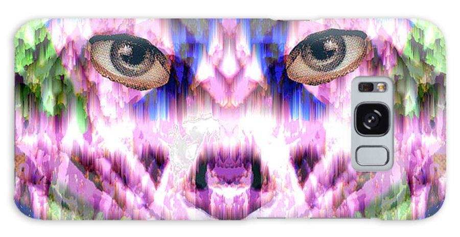 Cat Galaxy Case featuring the digital art Katechism by Seth Weaver