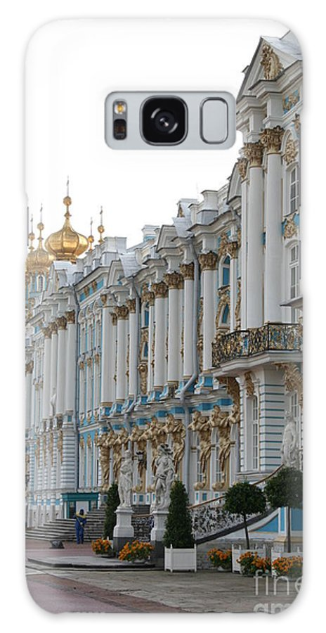 Palace Galaxy S8 Case featuring the photograph Katharinen Palace And Onion Domes - Russia by Christiane Schulze Art And Photography