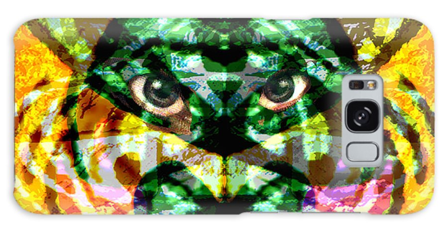 Abstract Galaxy Case featuring the digital art Katmandu by Seth Weaver
