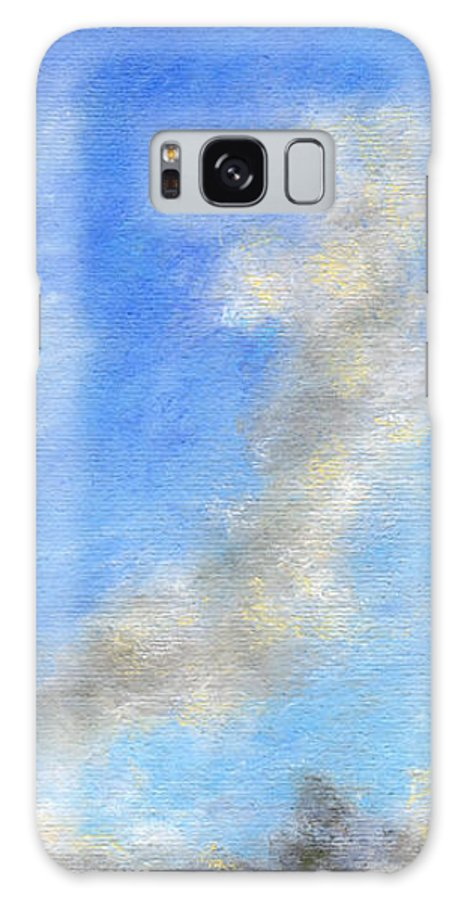 Coastal Decor Galaxy Case featuring the painting Kauapea Evening by Kenneth Grzesik