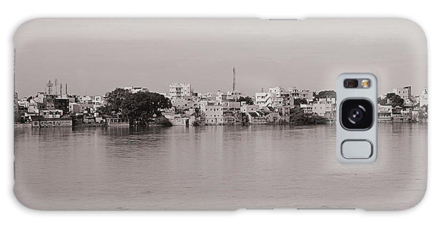 Krishnan Srinivasan Galaxy S8 Case featuring the photograph Kauveri Cityscape by Krishnan Srinivasan
