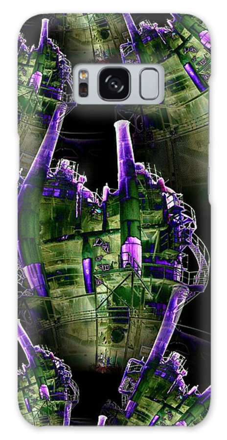 Seattle Galaxy S8 Case featuring the digital art Keepers Of The Gasworks by Tim Allen