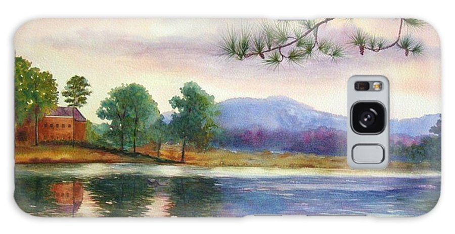 Marietta Galaxy S8 Case featuring the painting Kennesaw Mt. by Ann Cockerill