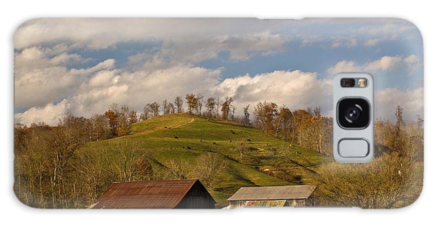 Kentucky Galaxy S8 Case featuring the photograph Kentucky Mountain Farmland by Douglas Barnett