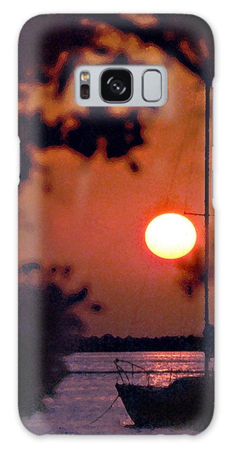 Seascape Galaxy Case featuring the photograph Key Largo by Steve Karol