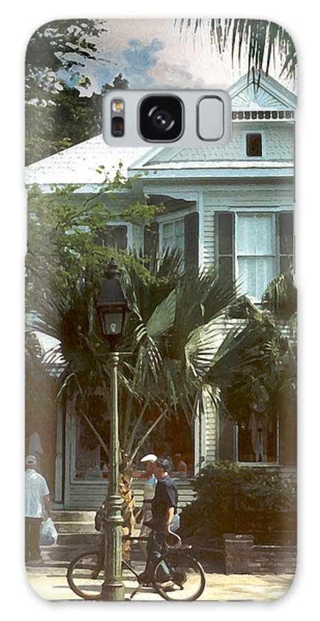 Historic Galaxy Case featuring the photograph Keywest by Steve Karol