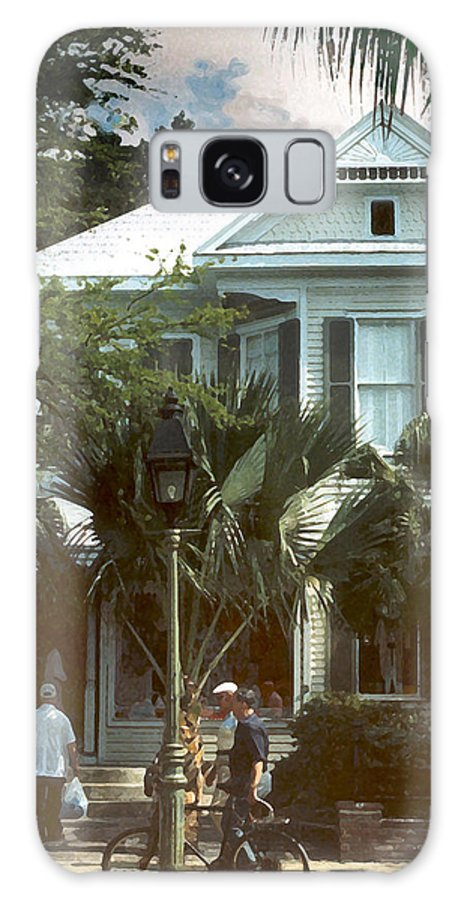 Historic Galaxy S8 Case featuring the photograph Keywest by Steve Karol