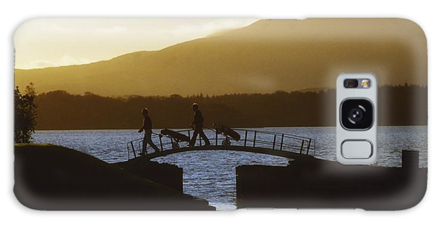 Bridge Galaxy S8 Case featuring the photograph Killarney Golf Club, Lough Leane, Co by The Irish Image Collection