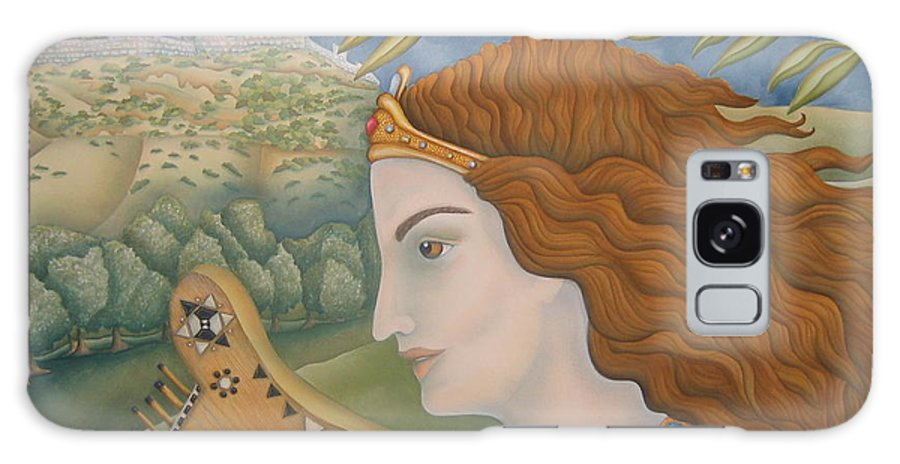 Bible Galaxy S8 Case featuring the painting King David In His Youth by Jeniffer Stapher-Thomas