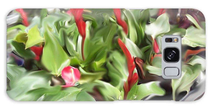 Flowers Galaxy S8 Case featuring the digital art Kingwood Center 2 by Crystal Webb