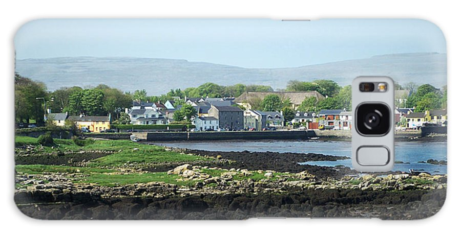 Irish Galaxy Case featuring the photograph Kinvara Seaside Village Galway Ireland by Teresa Mucha