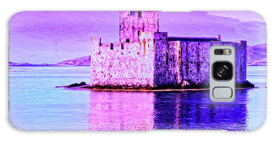 Castle Galaxy S8 Case featuring the painting Kisimul Castle by Dominic Piperata