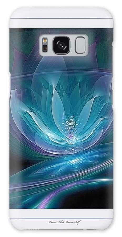 Fractal Galaxy S8 Case featuring the digital art Know That Inner Self by Gayle Odsather