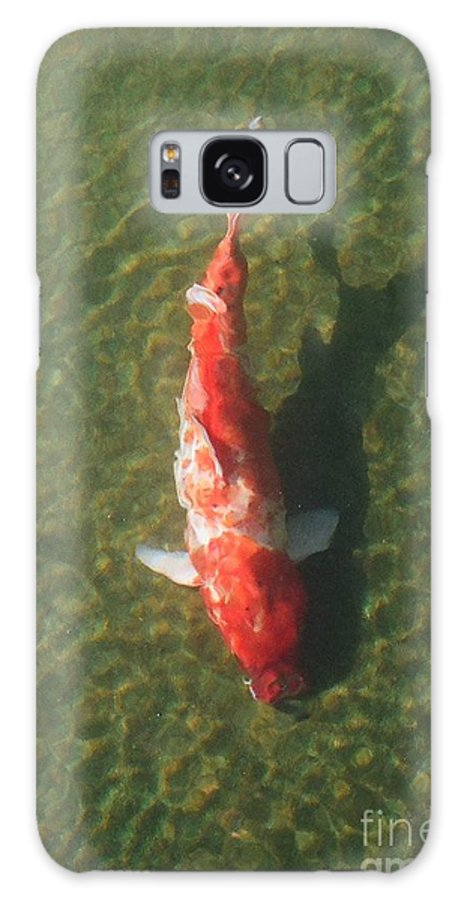 Koi Galaxy Case featuring the photograph Koi by Dean Triolo