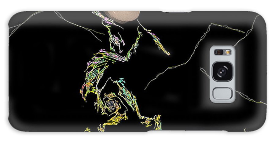 Kokopelli Galaxy S8 Case featuring the photograph Kokopelli by Viktor Savchenko