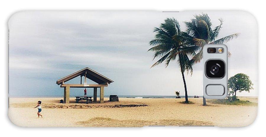 Beach Galaxy S8 Case featuring the photograph Kona Beach by DeWaine Tollefsrud