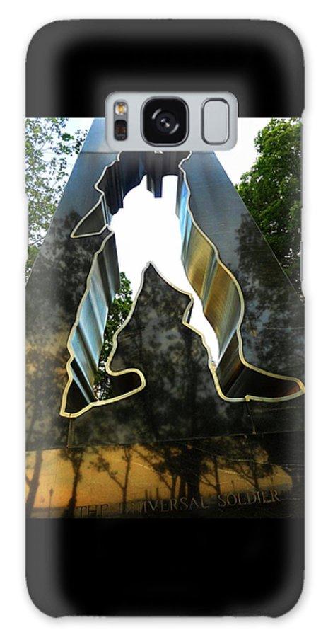 Korean War Memorial Galaxy S8 Case featuring the photograph N Y Korean War Memorial 5 by Ron Kandt