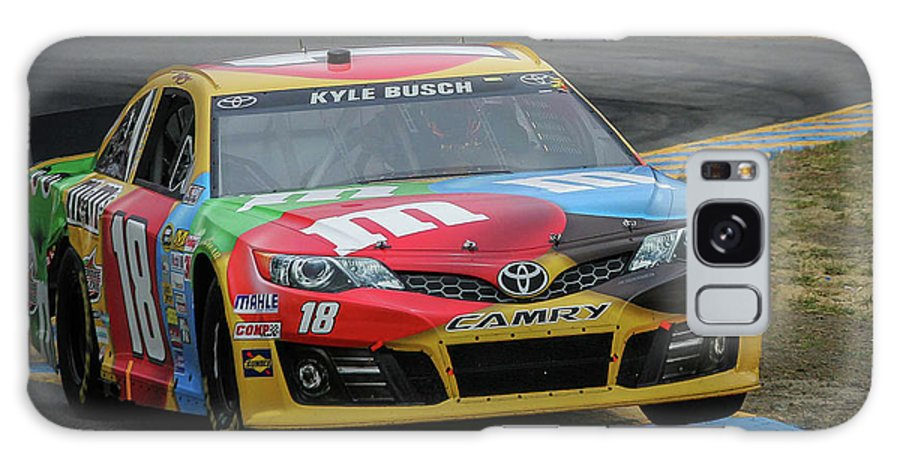 Nascar Galaxy S8 Case featuring the photograph Kyle Busch 2013 by Webb Canepa