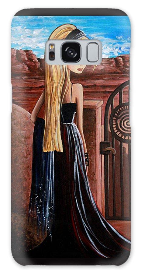 La Entrada Galaxy S8 Case featuring the painting La Entrada by Debbie Horton