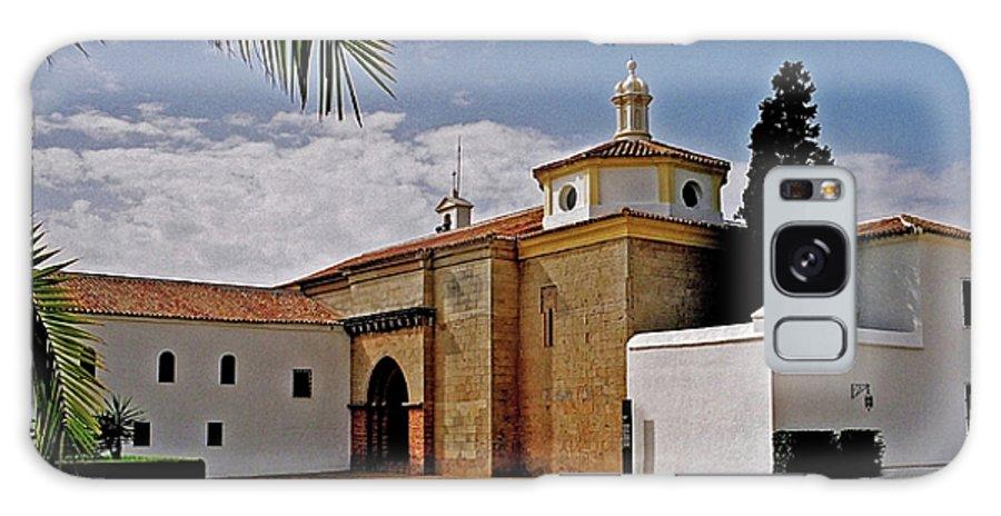 Europe Galaxy S8 Case featuring the photograph La Rabida Monastery - Huelva by Juergen Weiss