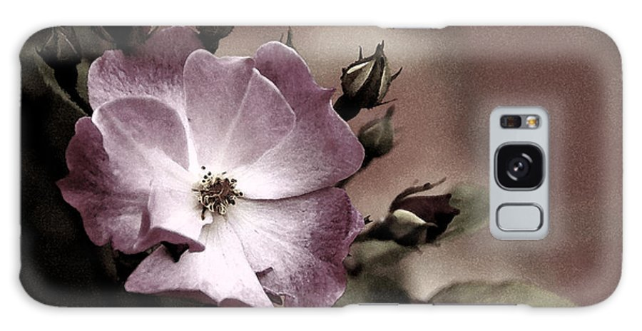 Rose Galaxy S8 Case featuring the photograph Ladies In Waiting by Linda Shafer