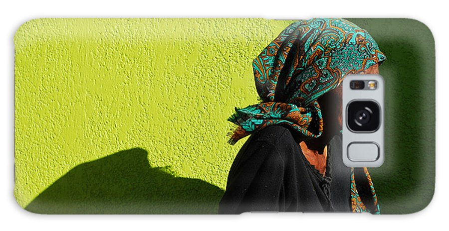 Africa Galaxy Case featuring the photograph Lady In Green by Skip Hunt