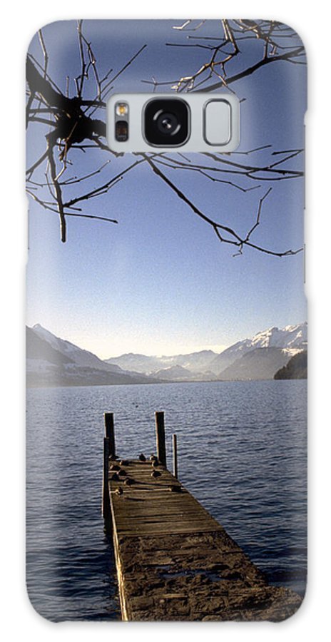 Lake Lucerne Galaxy S8 Case featuring the photograph Lake Lucerne by Flavia Westerwelle