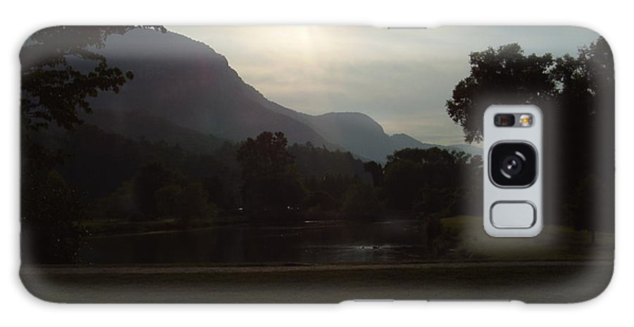Lake Lure Galaxy S8 Case featuring the photograph Lake Lure by Flavia Westerwelle