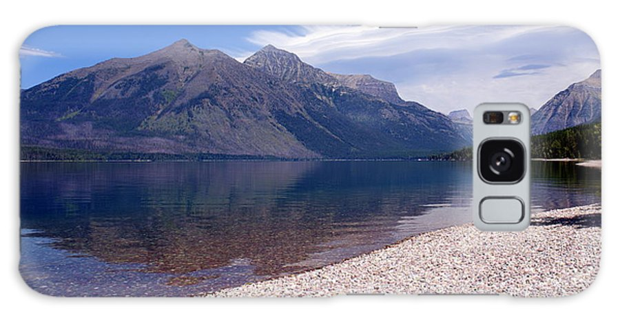 Glacier National Park Galaxy S8 Case featuring the photograph Lake Mcdonald Reflection Glacier National Park 4 by Marty Koch