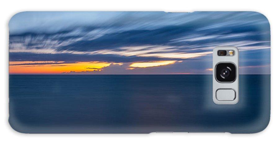 Lake Michigan Galaxy S8 Case featuring the photograph Lake Michigan Long Exposure by Pravin Sitaraman