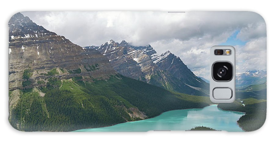 Moraine Lake Galaxy S8 Case featuring the photograph Lake Peyto - Banff National Park by Andre Distel
