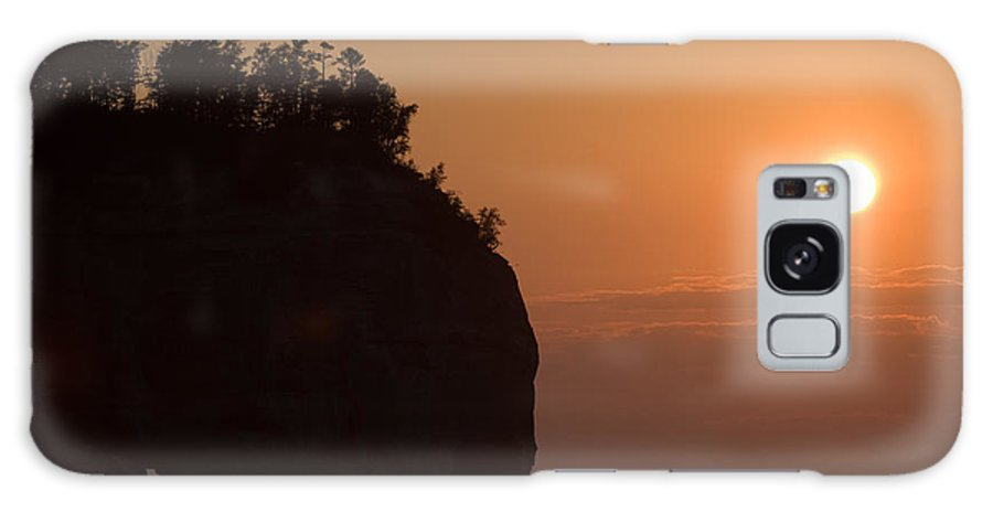 Lake Galaxy S8 Case featuring the photograph Lake Superior Sunset by Sebastian Musial