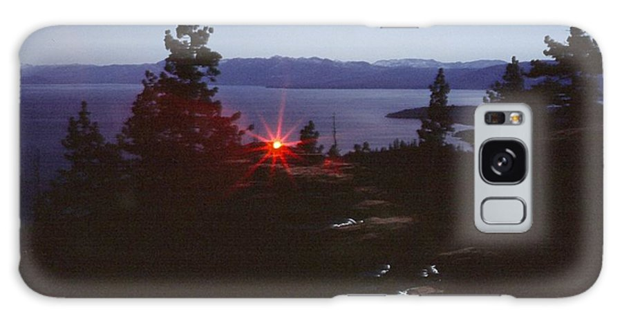 Landscape Galaxy S8 Case featuring the photograph Lake Tahoe by Steven Wirth