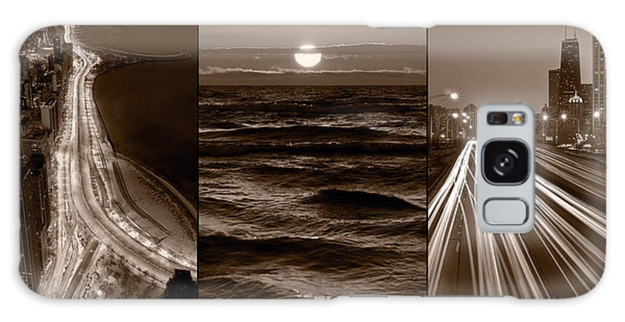 Chicago Galaxy S8 Case featuring the photograph Lakeshore Chicago by Steve Gadomski