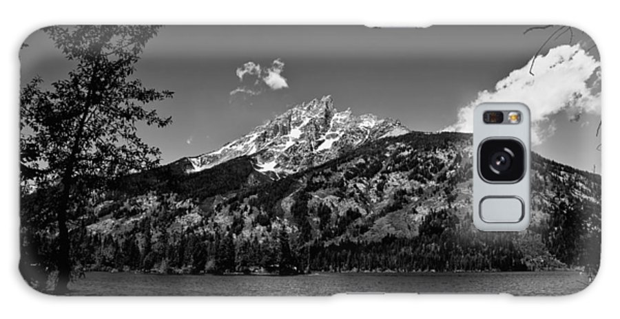 Black And White Galaxy S8 Case featuring the photograph Lakeside by John K Sampson