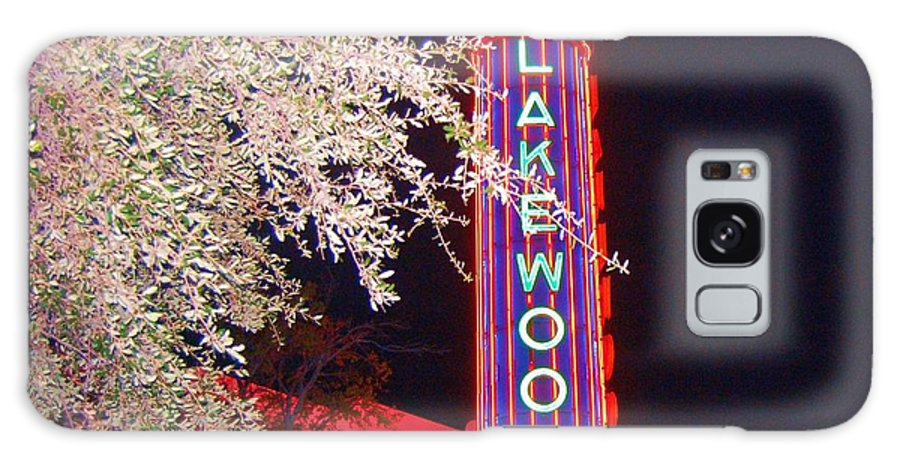 Theater Galaxy S8 Case featuring the photograph Lakewood Theater by Debbi Granruth