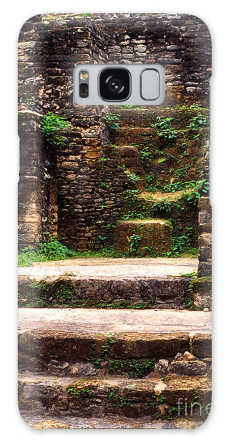 Lamanai Mayan Site Galaxy S8 Case featuring the photograph Lamanai Temple by Thomas R Fletcher