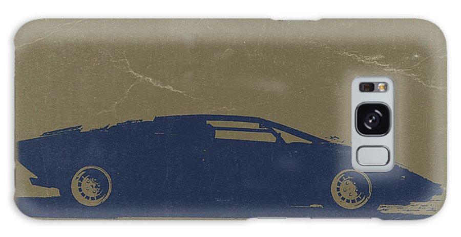 Lamborghini Countach Galaxy S8 Case featuring the photograph Lamborghini Countach by Naxart Studio